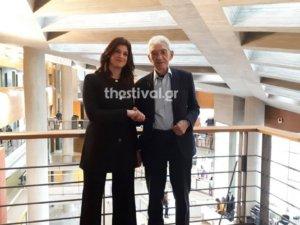 Μπουτάρης για Νοτοπούλου: Της εύχομαι να βγει δήμαρχος – Έχουμε κοινές αντιλήψεις σε πολλά – video