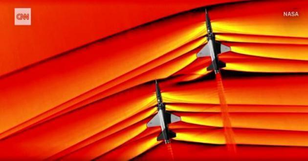 Τα κύματα που δημιουργούν jet όταν σπάνε το φράγμα του ήχου – Εξωπραγματικά πλάνα της NASA! [pics]
