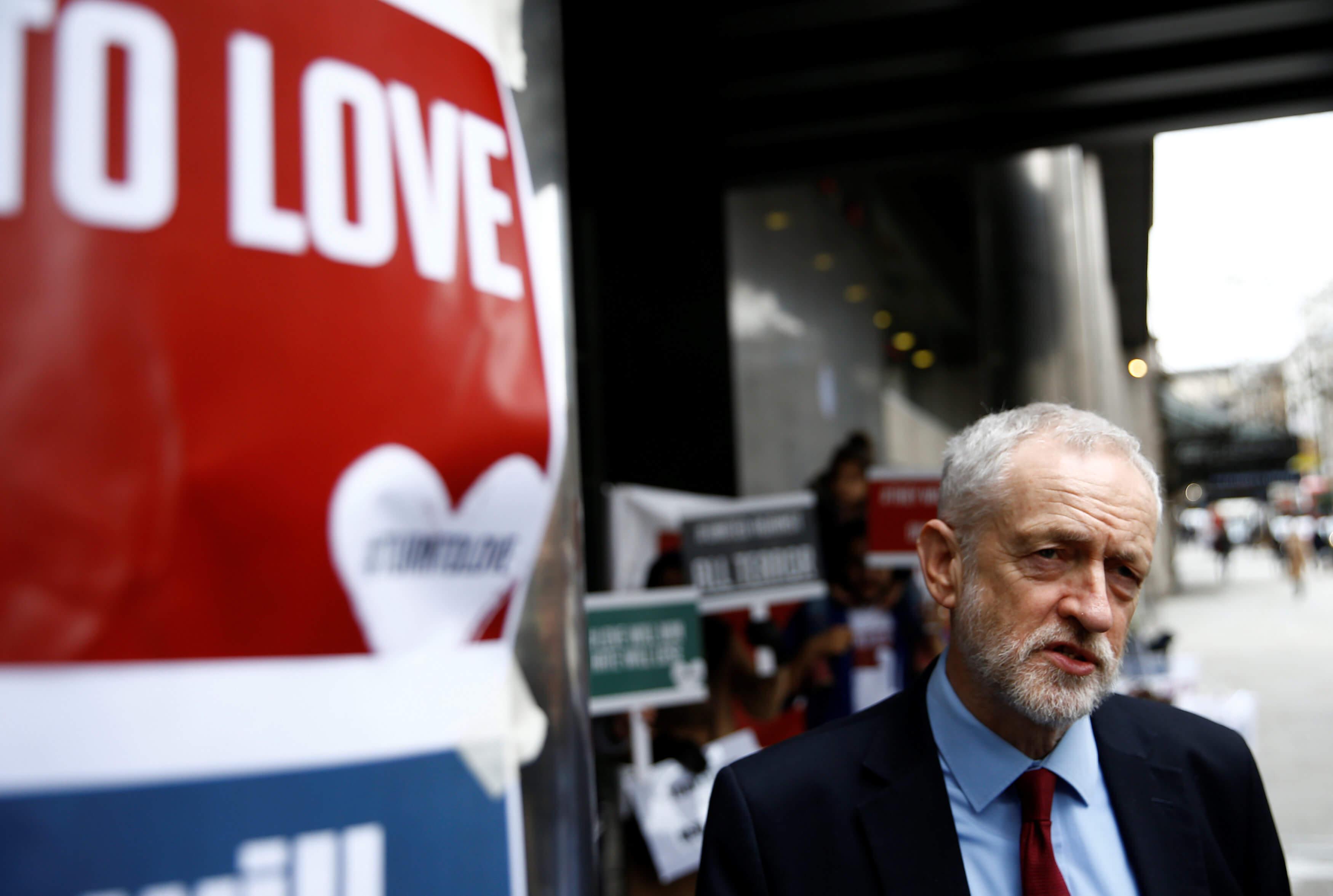 Brexit: Υπέρ νέου δημοψηφίσματος ο Τζέρεμι Κόρμπιν