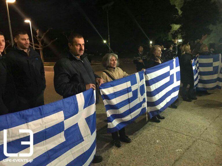 Αυτή την «υποδοχή» ετοίμασαν για την Έφη Αχτσιόγλου στη Θεσσαλονίκη [pics]