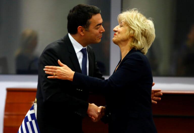 """Ντιμιτρόφ: """"Υπογράψαμε στη «μακεδονική» γλώσσα την συμφωνία με την Αναγνωστοπούλου""""!"""