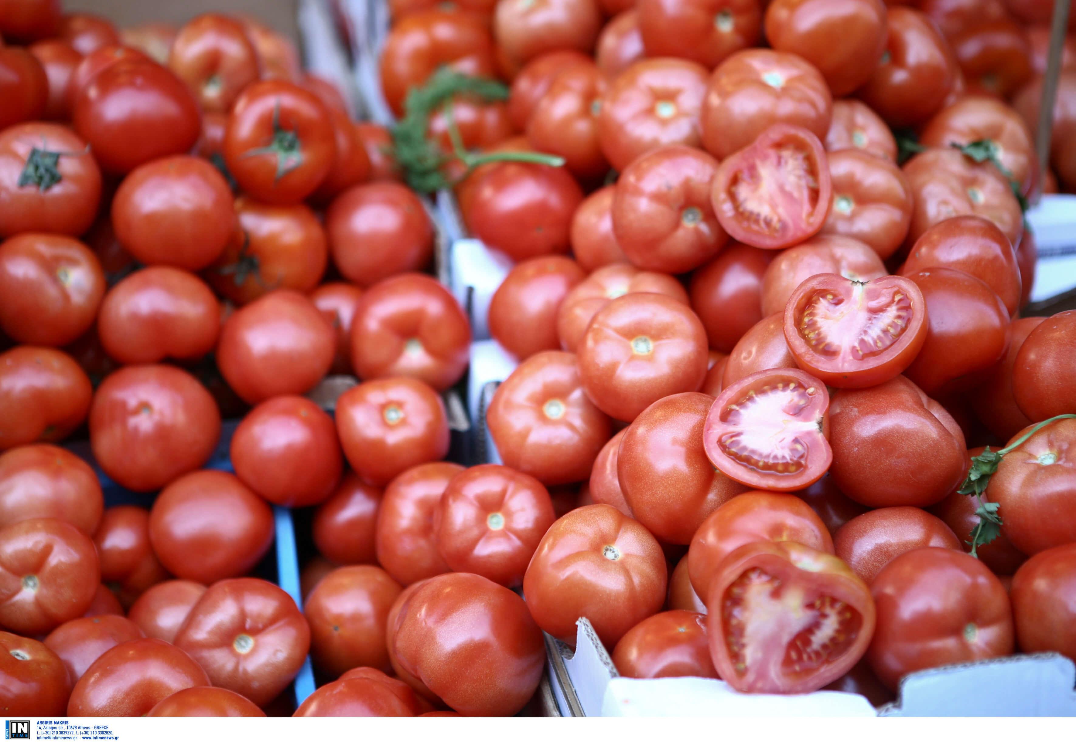 Δεσμεύθηκαν 2,5 τόνοι ντομάτας χωρίς σήμανση στον Πειραιά