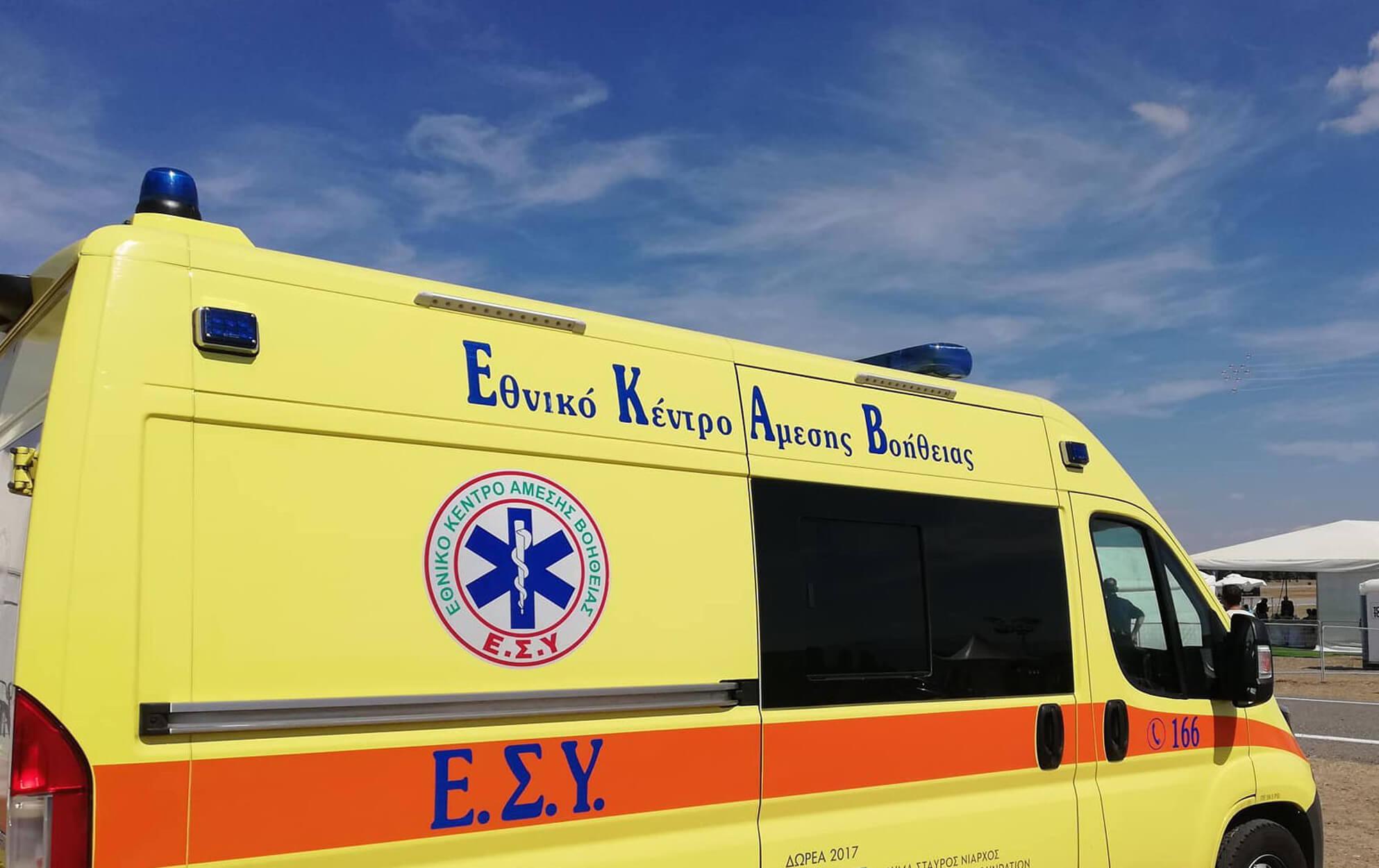 Ηράκλειο: Μητέρα και τα δυο παιδιά της εγκλωβίστηκαν μετά από τροχαίο