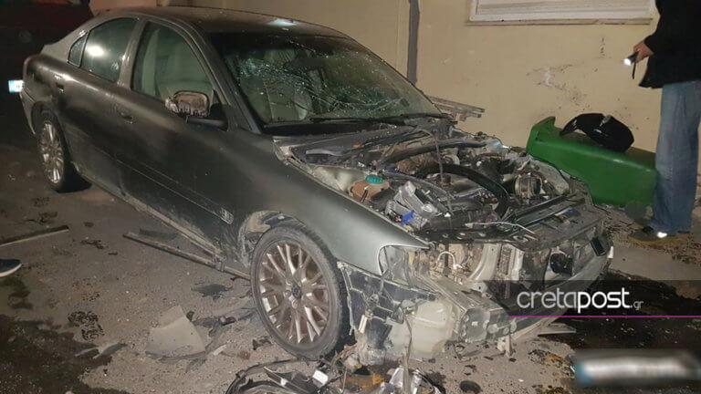 Ηράκλειο: Οι εικόνες από την έκρηξη αυτοκινήτου στο κέντρο του Ηρακλείου