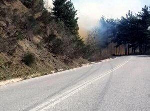 Τρίκαλα: Έπιασαν ηλικιωμένη για τη μεγάλη φωτιά