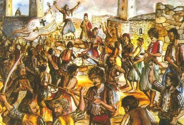 """Αυτές ήταν οι πρώτες αιματηρές συγκρούσεις πριν """"ξεσπάσει"""" η Επανάσταση του 1821 στον Μοριά! [pics]"""