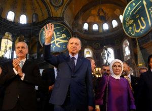 Ερντογάν: Δεν θα μπούμε σε παιχνίδια για την Αγιά Σοφιά
