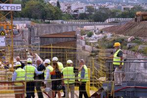 Θεσσαλονίκη: Κυκλοφοριακές ρυθμίσεις σε τμήμα της οδού Εγνατία λόγω εργασιών του Μετρό!