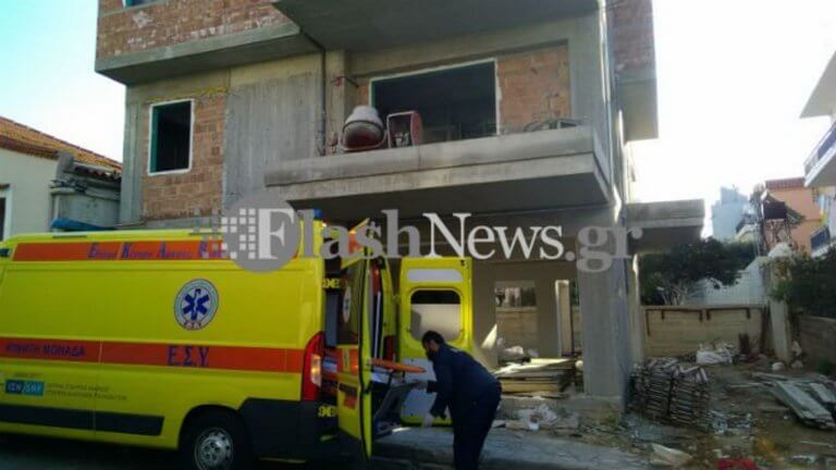 Χανιά: Σοβαρό εργατικό ατύχημα σε οικοδομή – Εργάτης έπεσε μέσα σε φρεάτιο [pics]