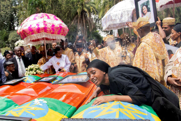 Αιθιοπία: Φόρος τιμής στα θύματα του Boeing [pics]