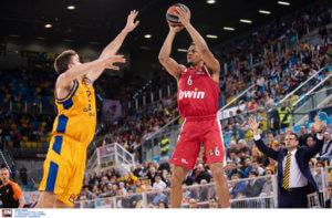 Euroleague: Η κατάταξη μετά την ήττα του Ολυμπιακού! Δεν κρατάει την τύχη στα χέρια του
