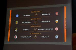 """Κλήρωση Europa League: Άρσεναλ – Νάπολι στα προημιτελικά! Όλα τα """"ζευγάρια"""" στους """"8"""""""
