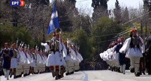 Παρέλαση 25 Μαρτίου: «Μακεδονία Ξακουστή» παιάνιζε η μπάντα