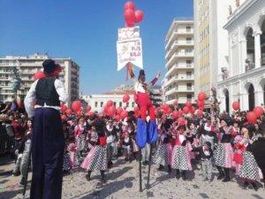 Πατρινό Καρναβάλι: Χρώματα και χαμόγελα στην παρέλαση των μικρών – pics