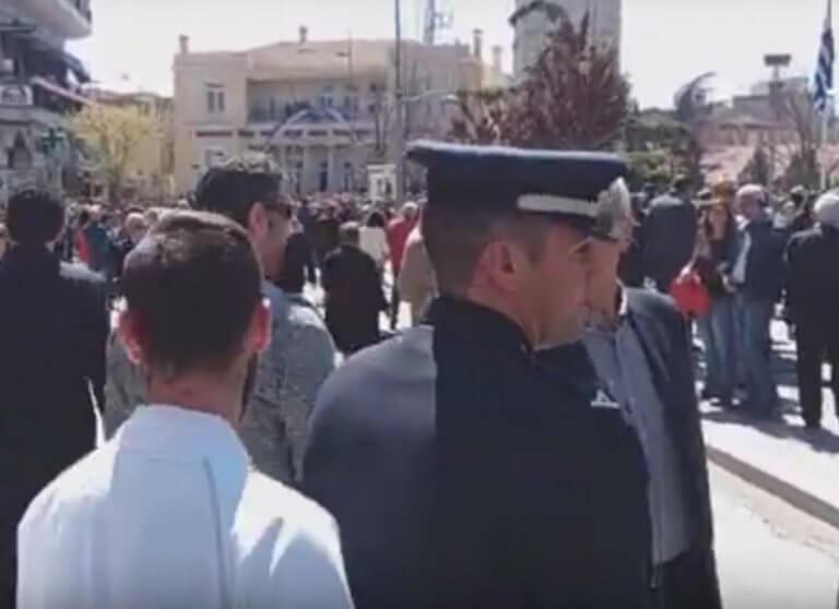 Παρέλαση 25 Μαρτίου – Κοζάνη: Φώναξε «φασίστες» στην υφυπουργό Μακεδονίας – Θράκης – video