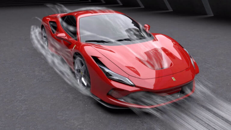 Η αεροδυναμική της Ferrari F8 Tributo [vid]