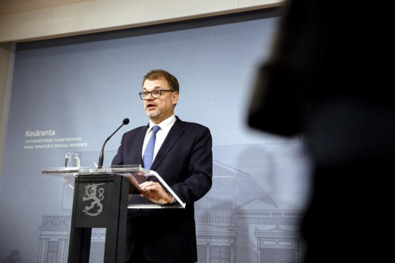 """""""Έπεσε"""" η κυβέρνηση στη Φινλανδία"""
