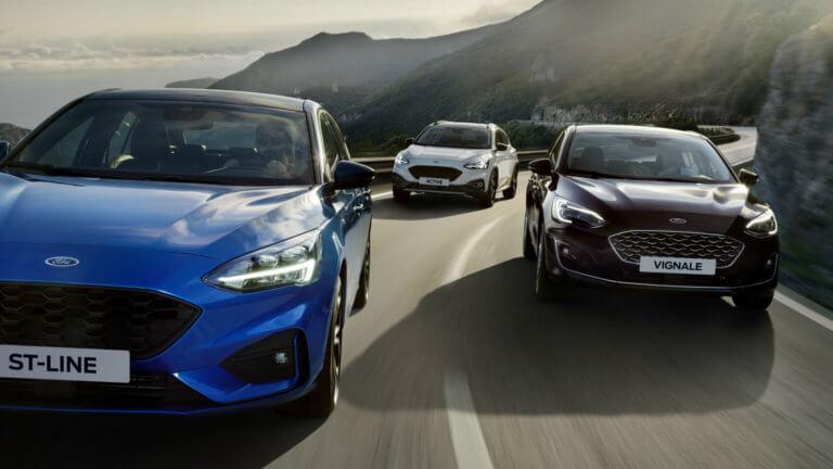 Έρχονται ήπιες υβριδικές εκδόσεις για τα Ford Focus και Fiesta