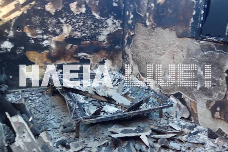 Ηλεία: Ολοκληρωτική καταστροφή σπιτιού από μεγάλη φωτιά – Αυτοψία στο σημείο [pics] | Newsit.gr