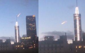 Η φλόγα στον ουρανό δεν ήταν μετεωρίτης – Το βίντεο που αποκάλυψε την αλήθεια