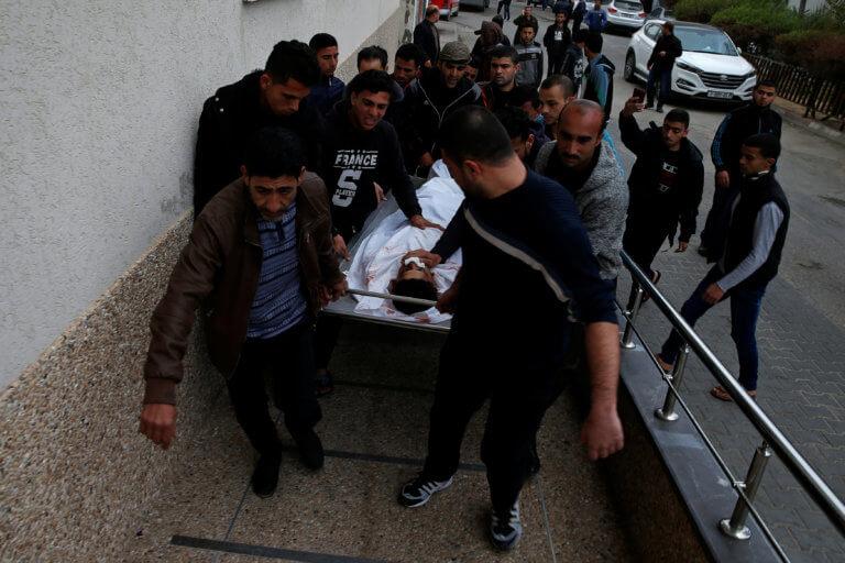 Γάζα: Νεκρός Παλαιστίνιος από πυρά Ισραηλινών