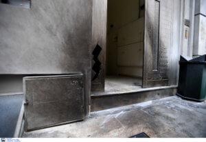 Γκαζάκια σε ασφαλιστική εταιρεία στην Καισαριανή