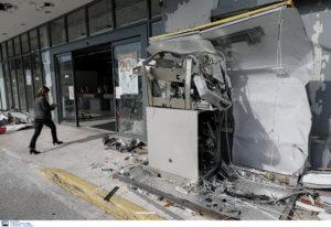 Ισχυρή έκρηξη σε ΑΤΜ στον Γέρακα