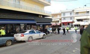 Γιαννιτσά: Ανάβουν φωτιές οι προληπτικές προσαγωγές πριν την εμφάνιση Κουβέλη με βουλευτές του ΣΥΡΙΖΑ [pics, video]