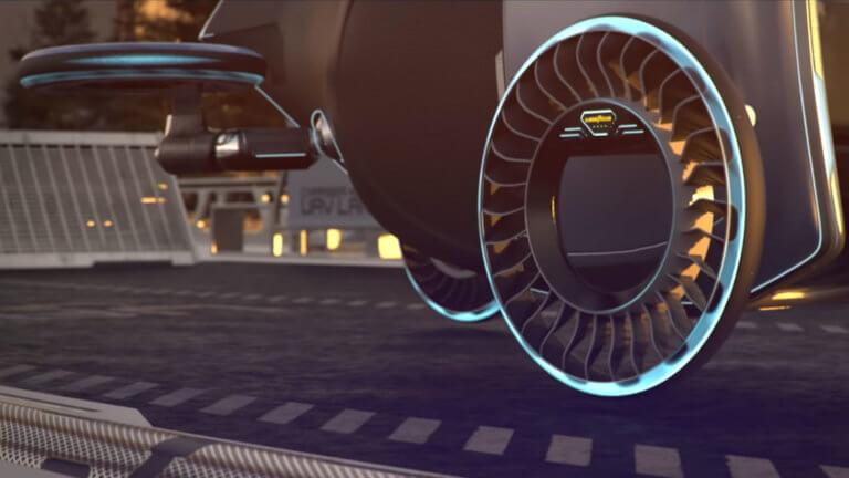 Η Goodyear έφτιαξε ελαστικό για τα ιπτάμενα αυτοκίνητα του μέλλοντος [vid] | Newsit.gr