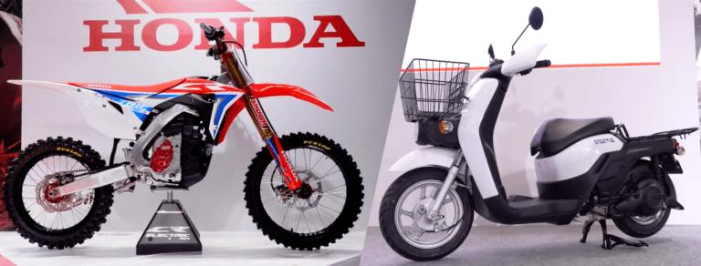 Έρχονται τα πρώτα ηλεκτρικά μοτοκρός και σκούτερ από την Honda