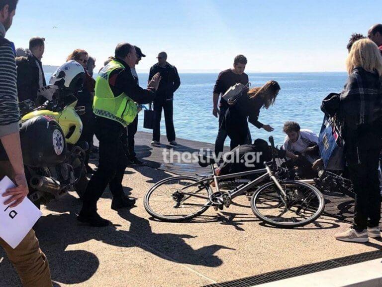 Συναγερμός στην Θεσσαλονίκη για 90χρονο που έπεσε στο Θερμαϊκό | Newsit.gr