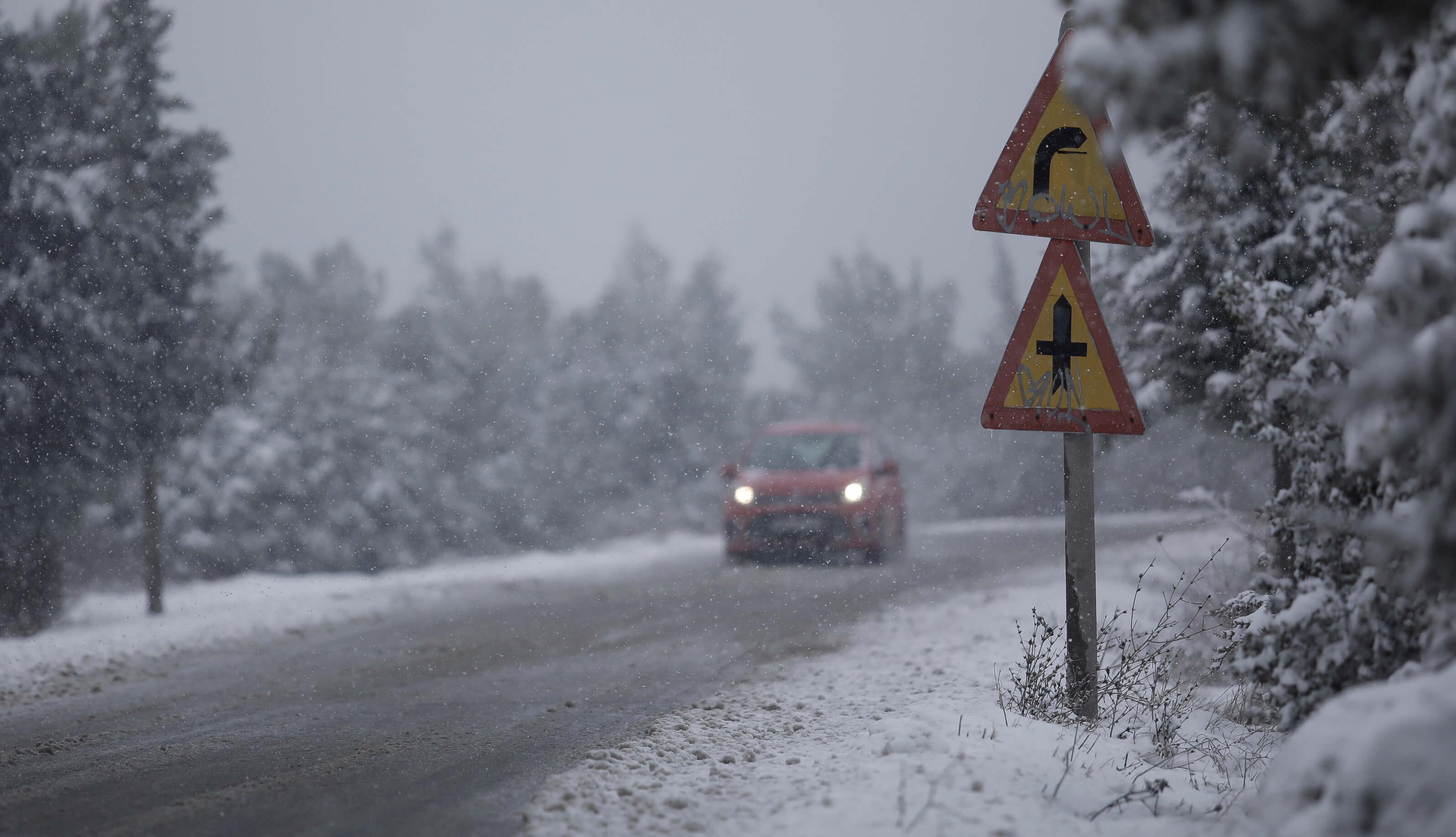 """Καιρός: Άνοιξη… """"τέλος"""" – Θερμοκρασίες ακόμα και κάτω από το 0! Καταιγίδες, χιόνια και δυνατοί άνεμοι"""