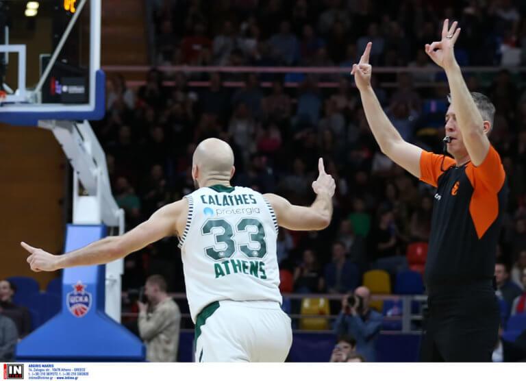 Euroleague: «Πράσινο» Top 10! Στην κορυφή η τριποντάρα του Καλάθη, μέσα κι ο Παπαγιάννης – video | Newsit.gr