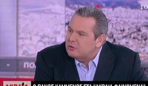 Καμμένος: Δεν απορρίπτει το ενδεχόμενο νέας συνεργασίας με τον Τσίπρα!