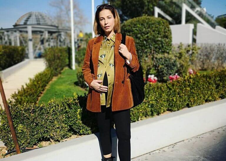 Κατερίνα Παπουτσάκη: Η πρώτη βόλτα με τον νεογέννητο γιο της, 21 μέρες μετά τη γέννησή του! [pic]