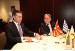 Συμφωνία των Πρεσπών: Ραντεβού Κατρούγκαλου – Ντιμιτρόφ στο Φόρουμ των Δελφών