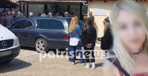 Ηλεία: Κηδεύτηκε η 22χρονη Αρετή – Θρήνος στο τελευταίο αντίο [pics]