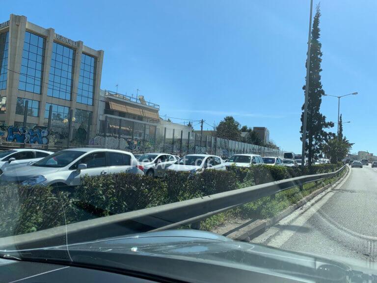 Απίστευτο μποτιλιάρισμα στην Αθηνών – Λαμίας