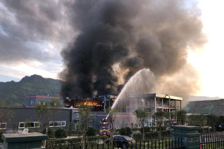 Νέα τραγωδία στην Κίνα – 5 νεκροί από έκρηξη αερίου σε εργοστάσιο