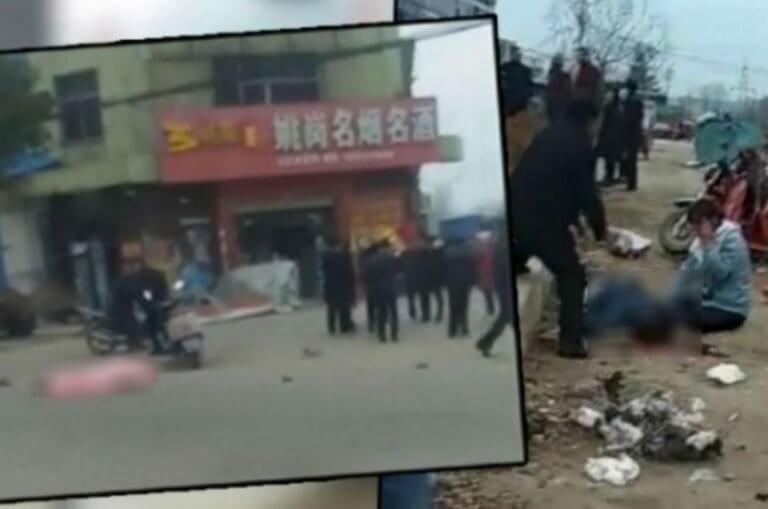 """Κίνα: Φρίκη! """"Θέρισε"""" ζωές και τον """"εξουδετέρωσαν""""! Προσοχή, σκληρές εικόνες"""