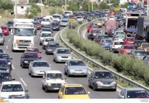 Θεσσαλονίκη: Κυκλοφοριακό χάος στην Περιφερειακή Οδό λόγω καραμπόλας και έργων!