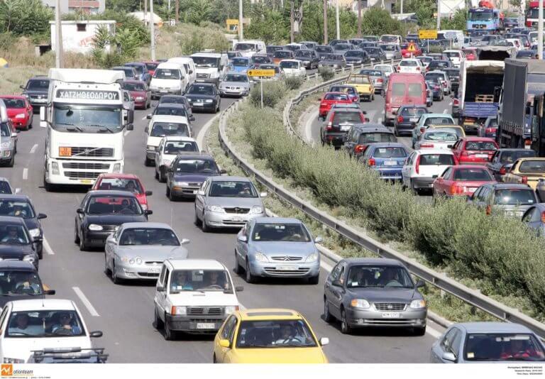 Θεσσαλονίκη: Κυκλοφοριακό χάος στην Περιφερειακή Οδό λόγω καραμπόλας και έργων! | Newsit.gr