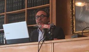 Πέτρος Κόκκαλης: «Πρόεδρος του Ολυμπιακού είναι ο Μώραλης και όχι ο Μαρινάκης» [video]