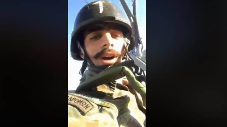 Τι λέει το Υπουργείο Άμυνας για τον αλεξιπτωτιστή και το «Μακεδονία ξακουστή» | Newsit.gr