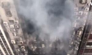 Μπαγκλαντές: 17 οι νεκροί από την φωτιά σε πολυώροφο κτίριο – video