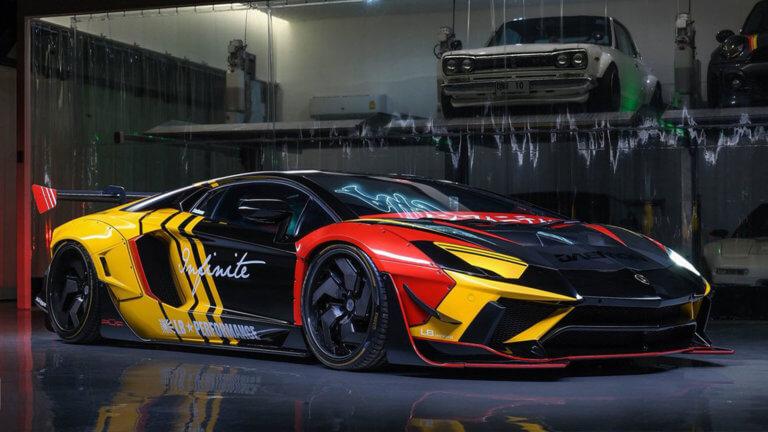 Μια Lamborghini Aventador για ιδιαίτερα γούστα