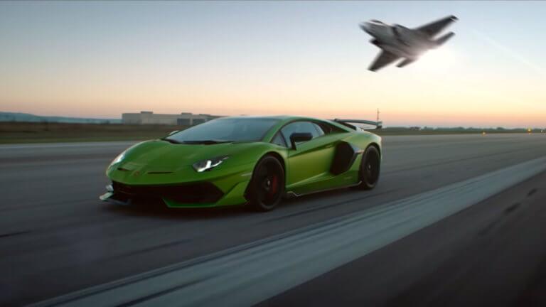 Τι κοινό έχει η νέα Lamborghini Aventador SVJ με το μαχητικό F-35; [vid] | Newsit.gr