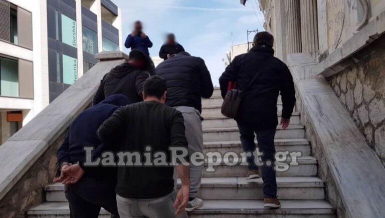 """Λαμία: """"Δε ληστέψαμε εμείς τον εργολάβο"""" – video"""