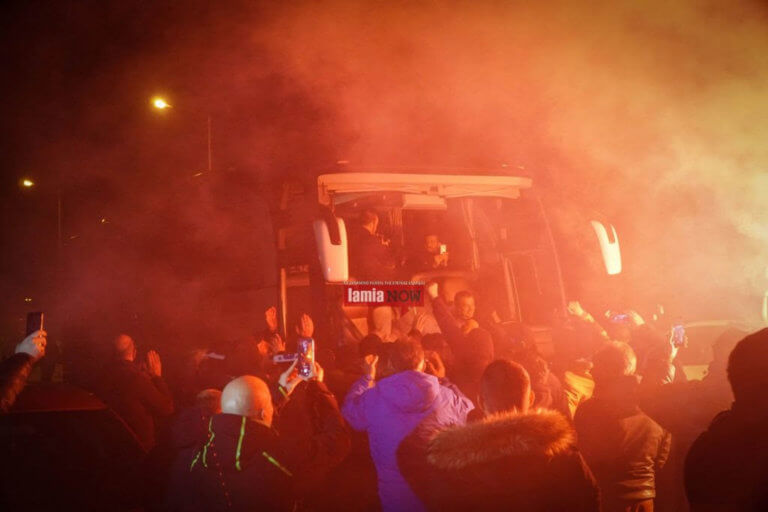 Κύπελλο Ελλάδας: Ντελίριο στη Λαμία! «Φέρτε μας το Κύπελλο» και… αποθέωση – video | Newsit.gr