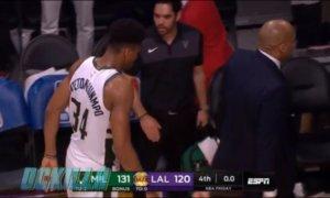 NBA: Εκνευρισμένος ο Λεμπρόν Τζέιμς! Δεν χαιρέτησε τον Αντετοκούνμπο – video